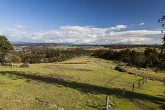 Countryside landscape. Bingie (near Morua). Australia Stock Images