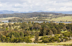 Countryside landscape. Bingie (near Morua). Australia. Royalty Free Stock Photo