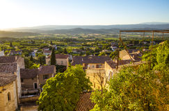 Countryside landscape in Bonnieux in Provence France Royalty Free Stock Image