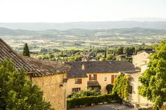 Countryside landscape in Bonnieux in Provence France Stock Photo