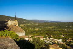 Countryside landscape in Bonnieux in Provence France Royalty Free Stock Images