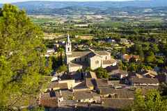 Countryside landscape in Bonnieux in Provence France Royalty Free Stock Photo