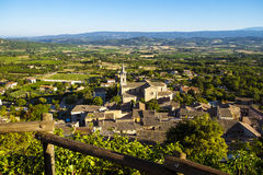 Countryside landscape in Bonnieux in Provence France Stock Images