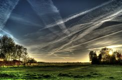 Countryside, Landscape, Hdr, Nature Royalty Free Stock Photos