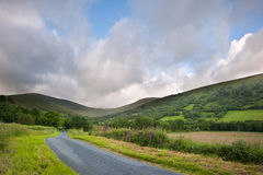 Countryside landscape panorama Royalty Free Stock Photos