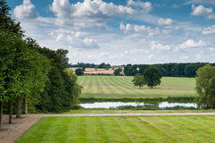 Countryside landscape in rural English countryside Stock Photography