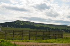 Countryside landscape, sky Stock Photography