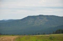 Countryside landscape, sky Stock Photos