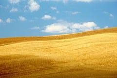 Countryside landscape in Tuscany region stock photo