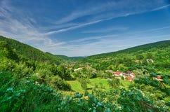 Countryside Landscape. In Valiug, Romania Stock Photography