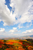 Countryside landscapes. In Yunnan Province, southwest of China Stock Photos