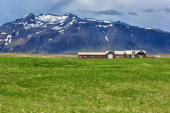 Countryside landscpae in Iceland. Stock Photos