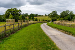 Countryside lane. An idyllic landscape from the countryside Royalty Free Stock Images