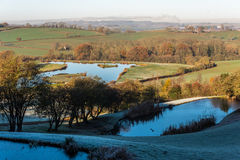 Countryside Lanscape View in United Kingdom Stock Images