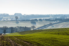 Countryside Lanscape View in United Kingdom Royalty Free Stock Photo