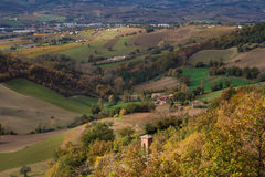 Countryside of le Marche, Italy Stock Photography