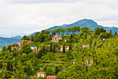 Countryside in Lombardia, Italy Royalty Free Stock Photos