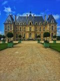 Countryside mansion Stock Photography