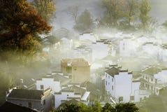 Countryside morning. Taken in november or december 2013 shicheng wuyuan jiangxi china Royalty Free Stock Images
