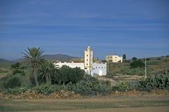 Countryside mosque, Morocco Stock Photo