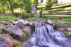 Countryside mountainous landscape Stock Image