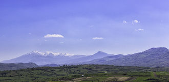 Countryside Mountains Royalty Free Stock Photo