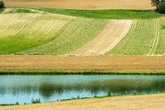 Countryside near Albi (France) Royalty Free Stock Image