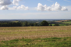 Countryside near Chichester. UK Royalty Free Stock Photos
