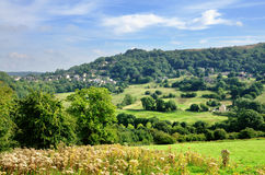 Countryside near Matlock Bath Stock Images