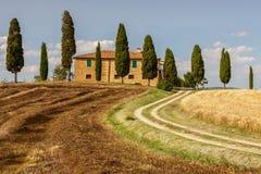 Countryside near Pienza, Tuscany, Italy Stock Photo