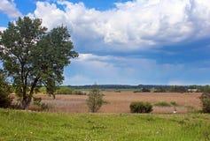 Countryside near the river Southern Buh, Ukraine Stock Photos