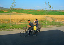 Countryside, North-Korea Royalty Free Stock Photos