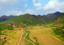 Countryside, North-Korea Royalty Free Stock Photo