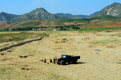 Countryside, North-Korea Stock Photos