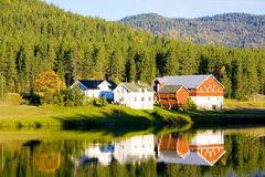 Countryside, Norway. Countryside of Norway in Scandinavia Royalty Free Stock Image