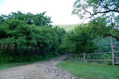 Countryside Old Paved Road Royalty Free Stock Images