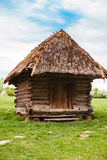 Countryside. Old traditional ukrainian house in a village. Stock Photos