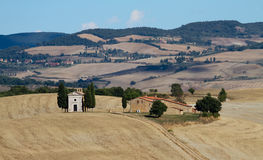 Countryside in the Orcia Valley Royalty Free Stock Images
