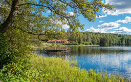 The countryside of Ostergotland in Sweden. The countryside of Ostergotland at Rodga outside Norrkoping in Sweden Royalty Free Stock Photo