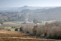 Countryside outside Bonnieux; Provence Stock Photo