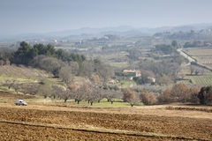 Countryside outside Bonnieux; Provence Royalty Free Stock Image