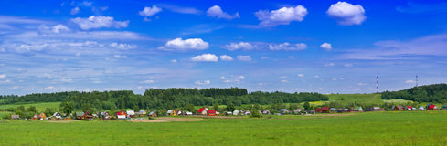 Countryside panorama Royalty Free Stock Photography