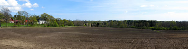 Countryside panorama Royalty Free Stock Photos