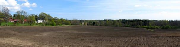 Countryside panorama royalty free stock photos