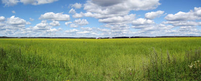 Countryside panorama stock images