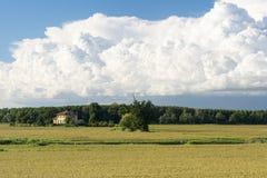 Countryside of Pavia (Italy) Stock Photo