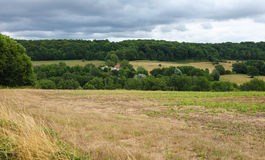Countryside of Perche, close to Mortagne-au-Perche in France Royalty Free Stock Images