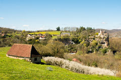 Countryside of perigord, france Stock Images