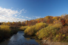 Countryside. This photo was taken in a fall morning, in a country northeast China Stock Images