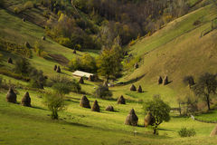 Countryside picturesque valley Royalty Free Stock Photography